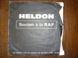 45t Heldon: Soutien à La RAF: Baader-Meinhof Blues - Omar Diop Blondin - Non Classés
