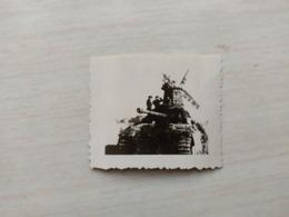 WWII Foto WEHRMACHT SOLDATEN Kampfwagen Panzer  Tank 2WK - 1939-45