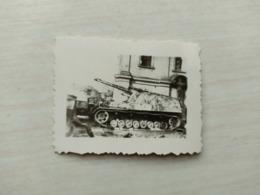 WWII Foto WEHRMACHT SOLDATEN Kampfwagen Panzer  Tank 2WK Jägdpanzer? - 1939-45
