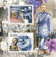 Sao Tome And Principe, 2011. [st11317] M.K. Gandhi (1869-1948) - Mahatma Gandhi