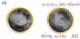 10 Euro En Argent 500 De La Région Rhône-Alpes - Auguste Et Louis Lumière - France 2012 - France