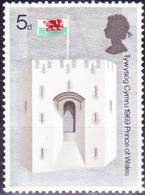 Großbritannien Great Britain Grande-Bretagne - Königin-Eleanor-Tor Der Burg Caernarfon (MiNr: 524) 1969 - Postfrisch MNH - Unused Stamps