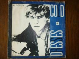 Al Corley: Cold-Dresses/ 45 Tours Mercury 880 812-7 - Vinyl Records