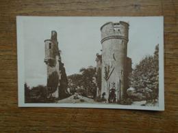 """Pont-aven , Rui,es Du Château De Rustéphan """""""" Carte Animée Personnage Dans La Tour """""""" - Pont Aven"""