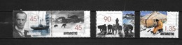 Territoire Antarctique Australien: TB Série N° 119 Au N° 122, Neufs XX - Territoire Antarctique Australien (AAT)