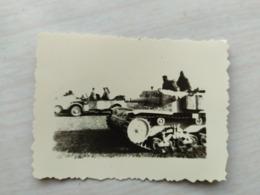 WWII Foto Wehrmacht Panzer  2 WK Photo Afrika - 1939-45