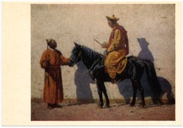 RUSSIA - RUSSIE - RUSSLAND Vereshchagin Kalmyk Lama On Horse - Bouddhisme