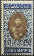 1939 König Faruk Unused * Falz Mi.Nr. 259 Mi.Pr.18.--€  Höchstwert!! - Égypte