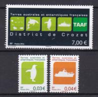 TAAF 2014 Antarctic Territories Crozer District (YT 709 ) Facial MNH** 21€ - Nuevos