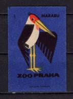 Tschechisches Zuendholzschachteletikett, Marabu (80256) - Zündholzschachteletiketten