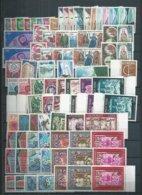 Andorre. Années Complètes ** De 1961 à 1998 ,certaines Par Multiples. Cote 2179€ Proposé à 5% De La Cote - Neufs
