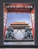 MONACO 2017  - Y.T. N° 3102 ( LA CITE INTERDITE A MONACO ) - NEUF ** - Monaco