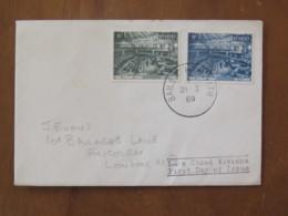 Ireland 1969 FDC Cover To England - Irish Parliament - 1949-... Repubblica D'Irlanda
