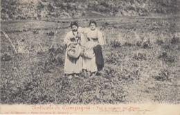 (025) CARTOLINA - ANTICOLI DI CAMPAGNA - TIPI E COSTUMI DEL PAESE  (FROSINONE) VIAGGIATA 1905 - Frosinone