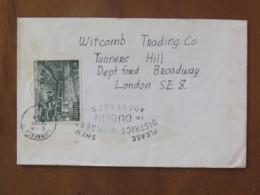 Ireland 1969 Front Of Cover Luimneac To England - Irish Parliament - 1949-... Repubblica D'Irlanda