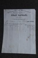 Facture Ancienne - CLERMONT FERRAND , GRAU RAPHAEL : Spécialité De Bonneterie. - France
