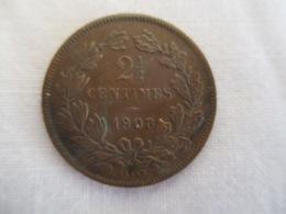 Luxembourg: 2 1/2 Centimes 1908 - Luxemburgo