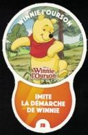 Carte à Collectionner Disney Auchan Les Défis Challenge Winnie L'Ourson 58 / 96 - Andere Sammlungen