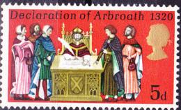 Großbritannien Great Britain Grande-Bretagne - Deklaration Von Arbroath (MiNr: 539) 1970 - Postfrisch MNH - 1952-.... (Elizabeth II)