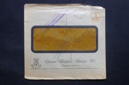 ALLEMAGNE - Enveloppe Commerciale De Berlin Pour La Belgique En 1917 , Affranchissement Perforé, Voir Cachet - L 43059 - Germany