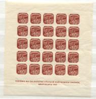 Tschechoslowakei Block 2 Postfrisch, Briefmarkenausstellung Bratislava 1937 - Tschechoslowakei/CSSR