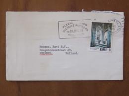 Ireland 1975 Cover Baile Atha To Holland - Holycross Abbey - 1949-... Republic Of Ireland