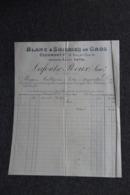 Facture Ancienne - CLERMONT FERRAND, LAFONT ROUX : Blanc Et Soiries En Gros. - France