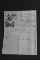 Facture Ancienne - LYON, A.MAURY : Manufacture De Lingerie. - France