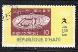 APR2987 - HAITI 1969 , Posta Aerea  Yvert N. 413  Usato Con Gomma (2380A)  Olimpiadi Bikila - Haiti