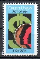 USA. N°1521 De 1984. Union De Crédit. - Vereinigte Staaten