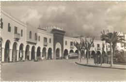 POSTAL  LARACHE  -MARRUECOS  - LA ARQUERIA EN LA PLAZA DE ESPAÑA - Marruecos