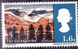 Großbritannien Great Britain Grande-Bretagne - Cairngorm-Berge (Schottland) (MiNr: 421 Y) 1966 - Postfrisch MNH - 1952-.... (Elizabeth II)