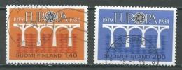 Finlande YT N°908/909 Europa 1984 Oblitéré ° - Europa-CEPT