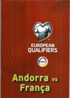 UEFA EUROPEAN QUALIFIERS.2020.FRANCE-ANDORRA, BOOKLET 16 PAGES LUXE, Disponible Seuls Aux Tickets VIP.11-06-19 - Tickets D'entrée