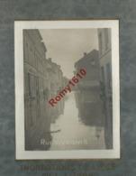 Liège. Photo Inédite Inondations  1er  Janvier 1926.  Rue  Vivegnis.  Animée. - Lieux