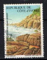 COSTA D'AVORIO - 1986 - COSTA ROCCIOSA GRAND-BEREBY - USATO - Costa D'Avorio (1960-...)
