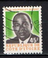 COSTA D'AVORIO - 1976 - PRESIDENTE HOUPHOUET- BOIGNY - USATO - Costa D'Avorio (1960-...)