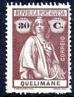 !■■■■■ds■■ Quelimane 1914 AF#37* Ceres 30 Centavos Chalky (x12725) - Quelimane
