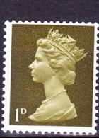 Großbritannien Great Britain Grande-Bretagne - Machin Wert In Allte Pence (MiNr: 453) 1968 - Postfrisch MNH - Unused Stamps