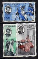APR2989 - HAITI 1961 , Posta Aerea  Yvert N. 220/222  Usato  (2380A)  Dumas - Haiti