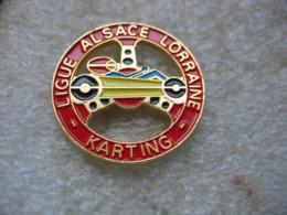 Pin's De La Ligue Alsace-Lorraine De Karting - Badges