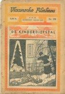 Vlaamsche Filmkens Nr 320 De Kinderdiefstal 1936 GROOT FORMAAT: 16x23,5cm ( Averbode's Jeugdbibliotheek ) KWATTA - Oud