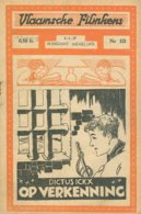 Vlaamsche Filmkens Nr 321 Dictus Ickx Op Verkenning 1936 GROOT FORMAAT: 16x23,5cm ( Averbode's Jeugdbibliotheek ) KWATTA - Livres, BD, Revues