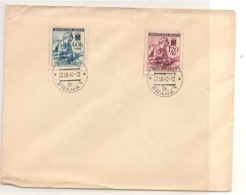 Occupation Allemande PRAHA Enveloppe Année 1942 - Briefe U. Dokumente