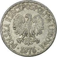 Monnaie, Pologne, Zloty, 1976, Warsaw, TB+, Aluminium, KM:49.1 - Pologne