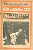 Vlaamsche Filmkens Nr 322 Dictus Ickx Het Vergeten Kindergraf 1937 GROOT FORMAAT: 16x23,5cm (Averbode's Jeugbibliotheek) - Livres, BD, Revues