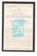 DP Clémence H. Bouckenaere ° Ieper 1815 † 1894 X Louis Verhille - Devotion Images