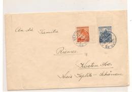 Occupation Allemande PRAHA Enveloppe Année 1941 - Briefe U. Dokumente