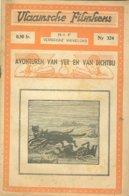 Vlaamsche Filmkens 324 Avonturen Van Ver En Van Dichtbij 1937 GROOT FORMAAT: 16x23,5cm Averbode's Jeugbibliotheek KWATTA - Anciens