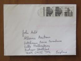 Ireland 1999 Cover Baile Atha To England - Architecture Botanical Garden - Castle - 1949-... République D'Irlande